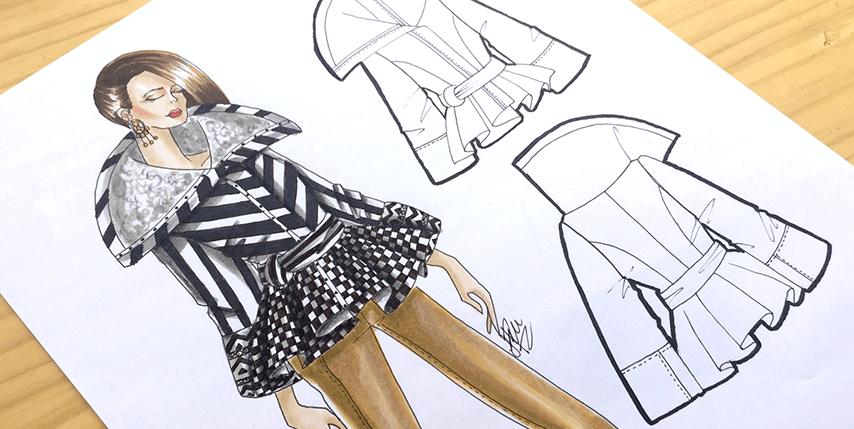 dibujar figurines de moda