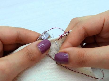 coser a mano